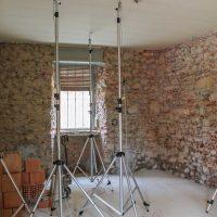 Disposizione dei sensori di rilevamento presso edificio privato in Calcinate (BG)