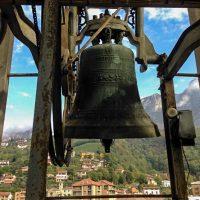 Campana del campanile della Chiesa di Germanedo di Lecco