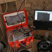 Sistema di rilevamento per misurazione dei dati di carico e spostamento