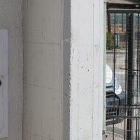 Maglia ideale dell'armatura presente nel pilastro ottenuta tramite prova pacometrica