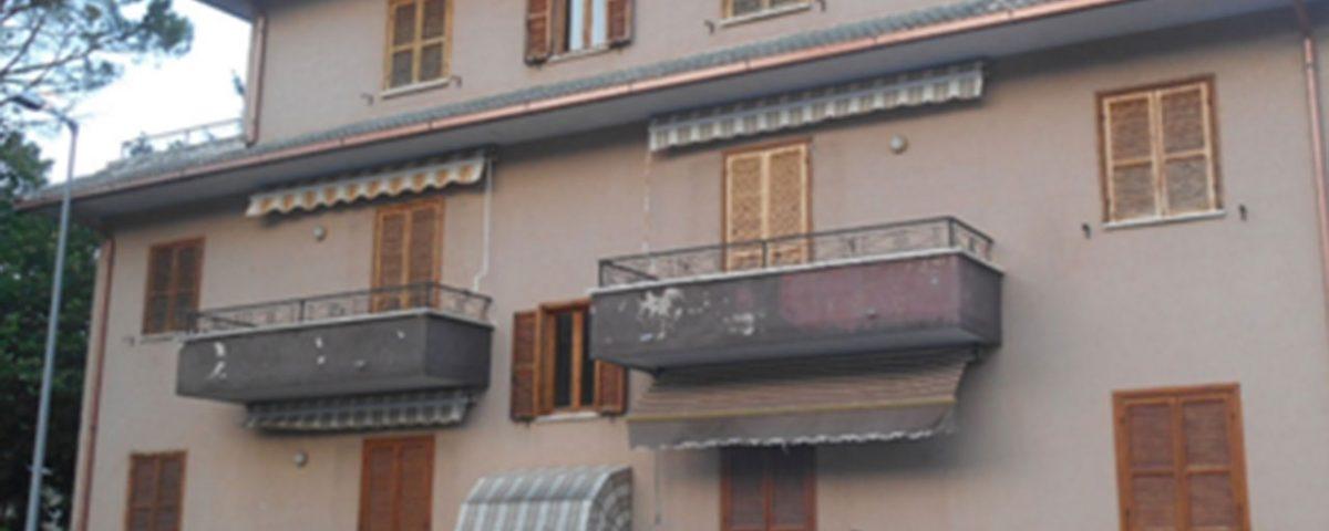 Edificio oggetto di indagini diagnostiche - Muccia (MC)