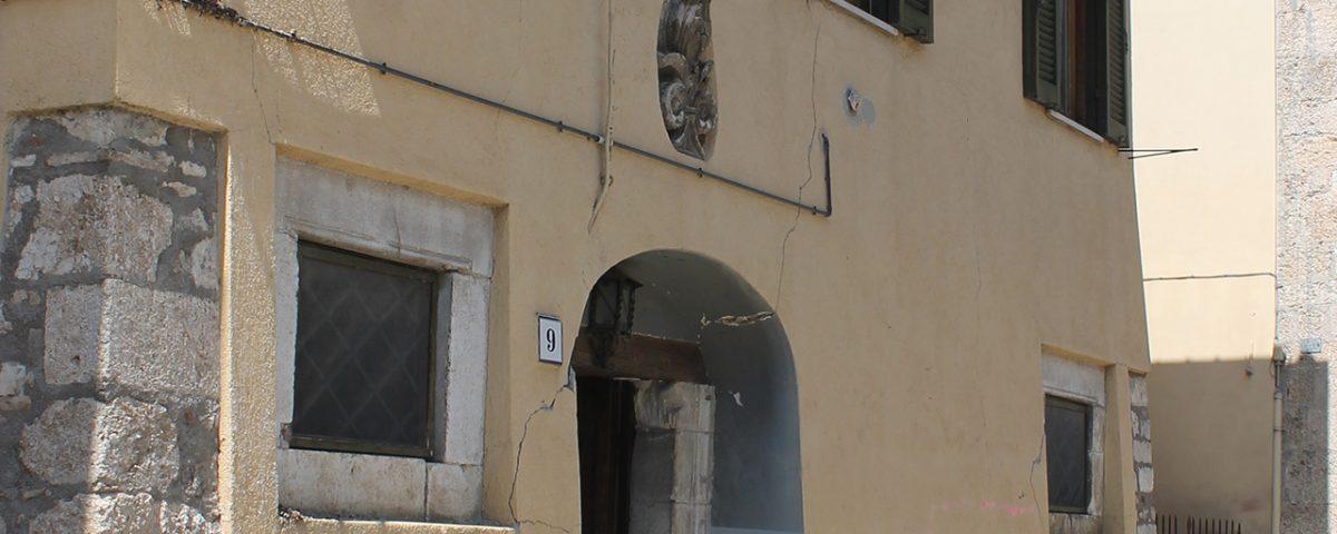 Edificio oggetto di indagini diagnostiche - Norcia (PG)