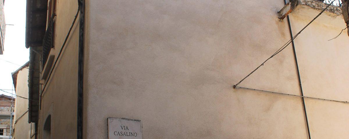 Edificio oggetto di indagini diagnostiche - Fontecchio (AQ)